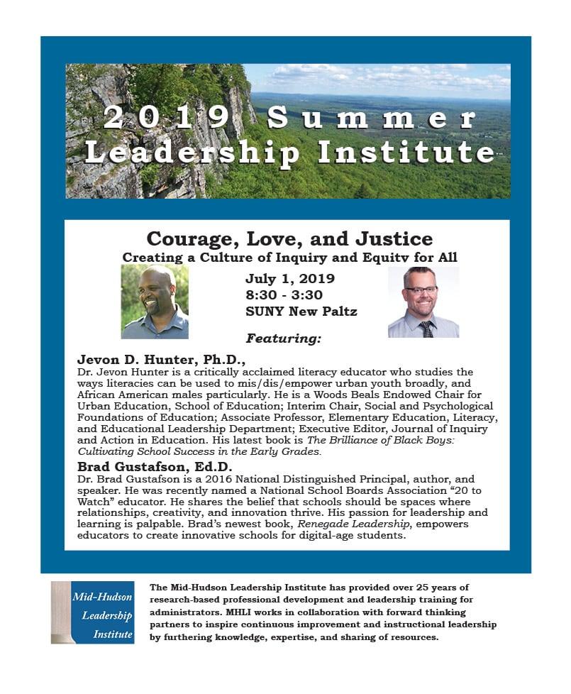 2019 MHLI Summer Institute